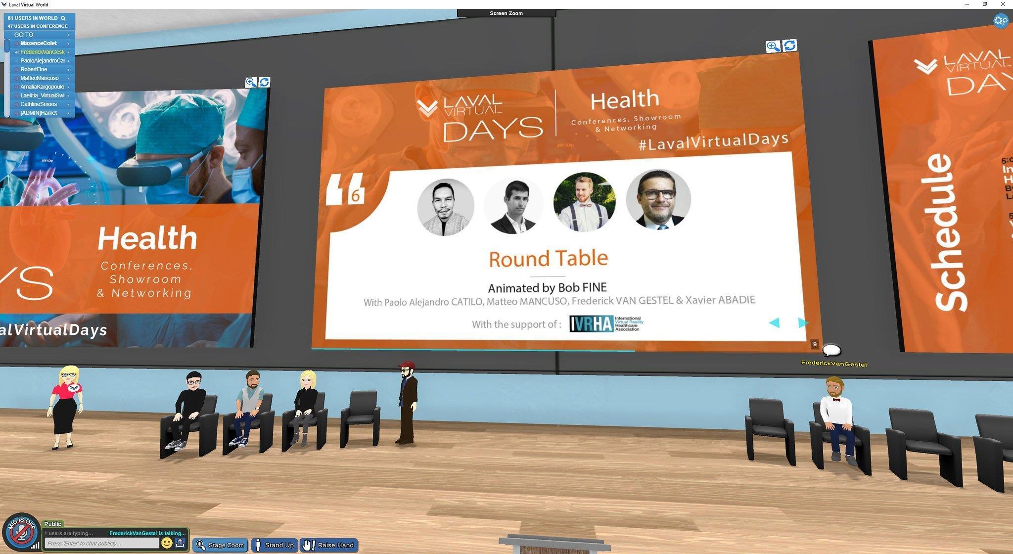 L'événement au Laval Virtual 2020